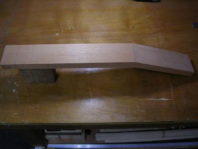 Spanish Cedar neck assembly