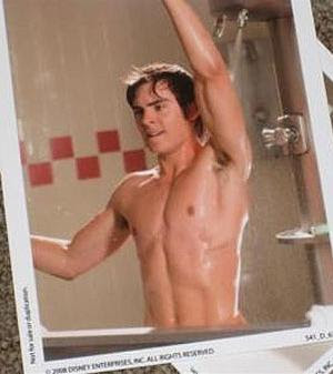 Zac Efron Shower Naked 8