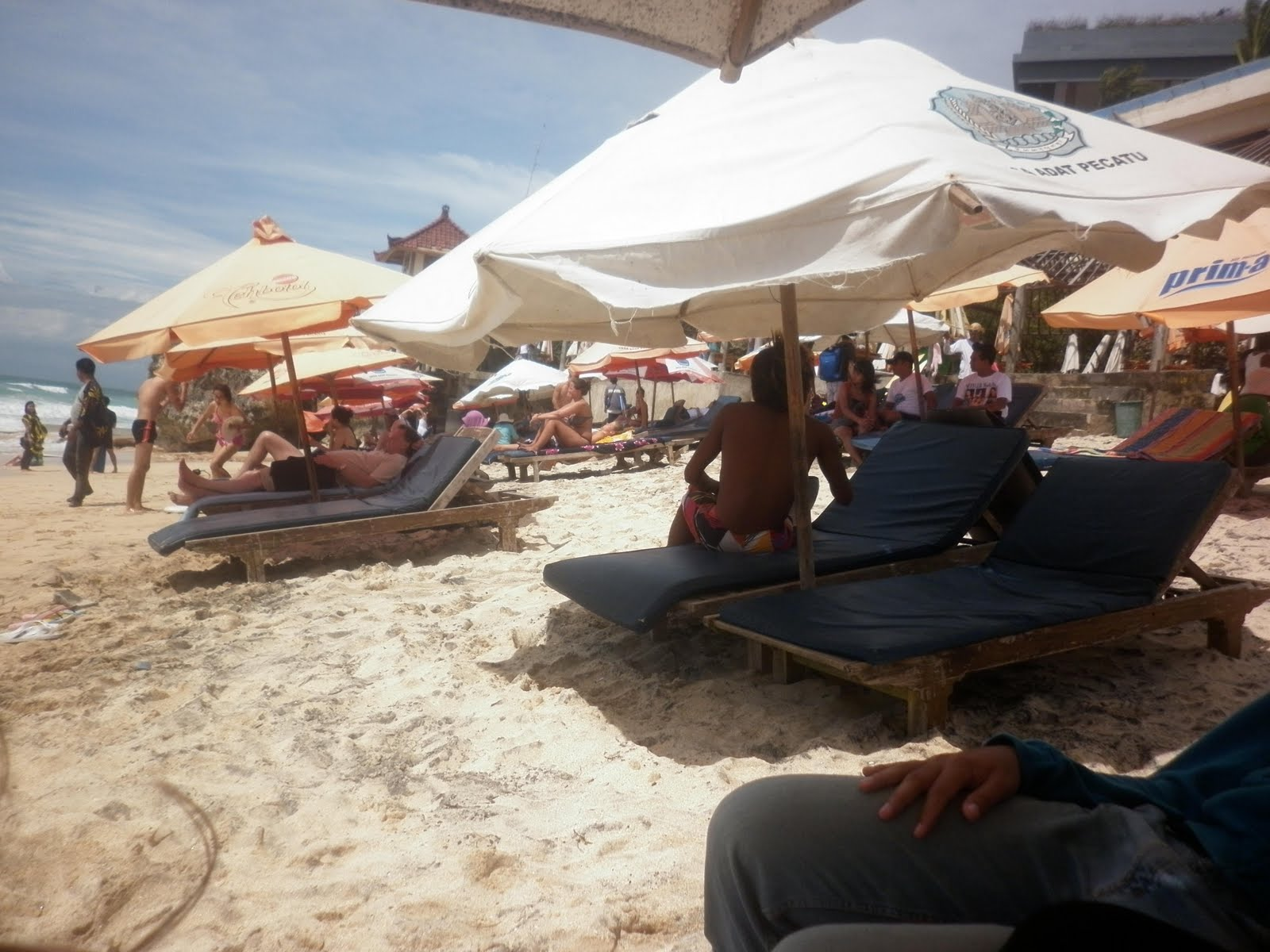 Indahnya Pantai Dreamland (New Kuta Beach), Bali