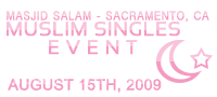 Muslim Singles Event