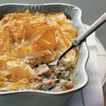 Pretty in Pork: Ain't No Marie Callender's Chicken Pot Pie