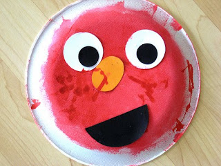 Elmo Plate Craft