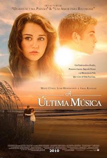 Filme Poster A Última Música DVDRip RMVB Legendado