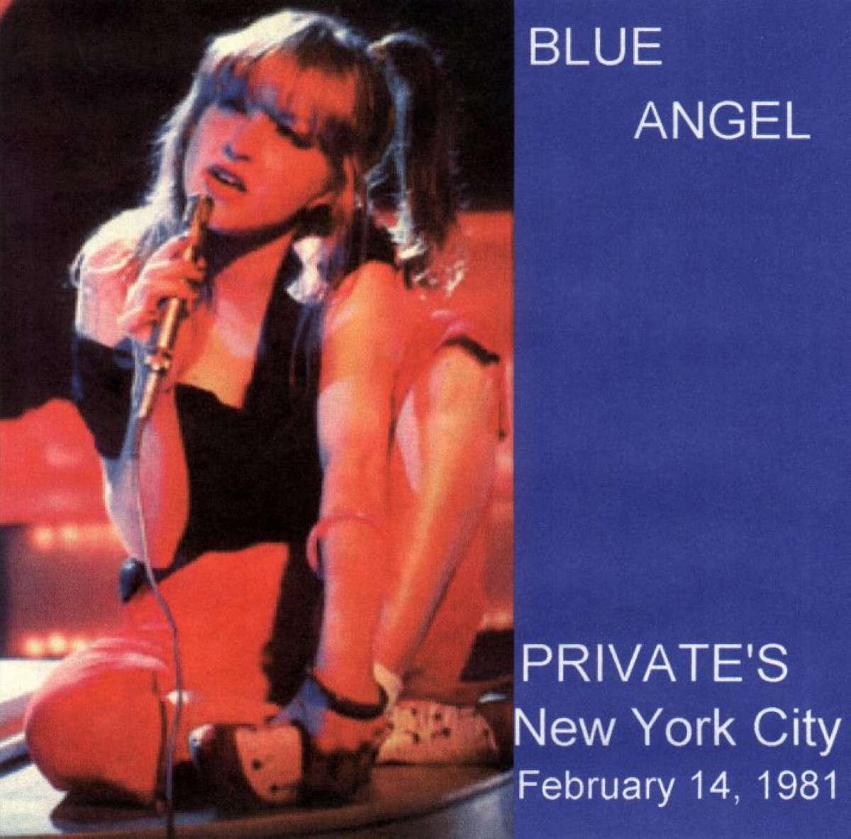 Cyndi Lauper Blue Angel Amp Lady Gaga Unofficial Blog Music