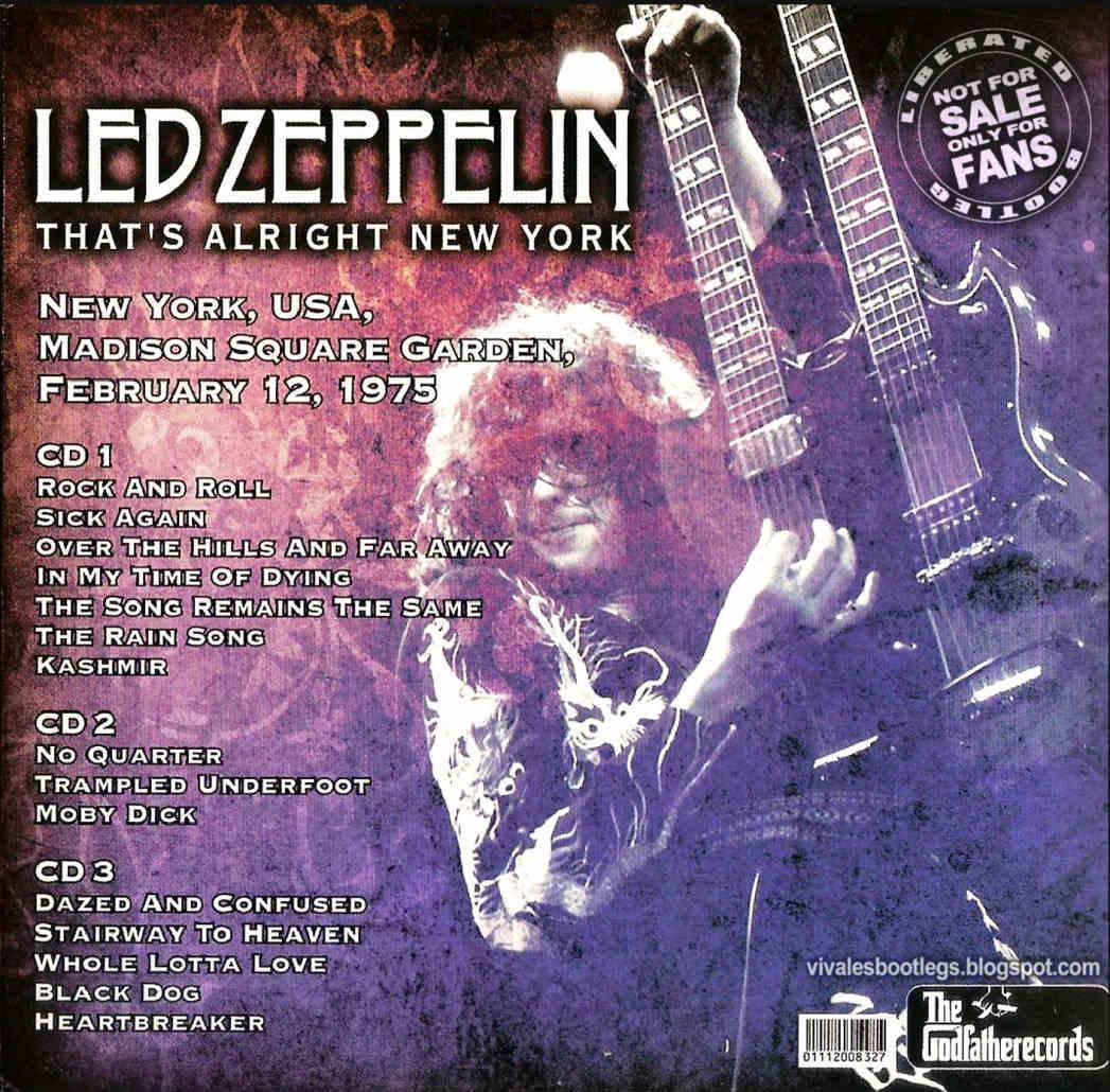 led zeppelin bootlegs: