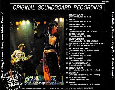 Octobre 2010 Viva Les Bootlegs