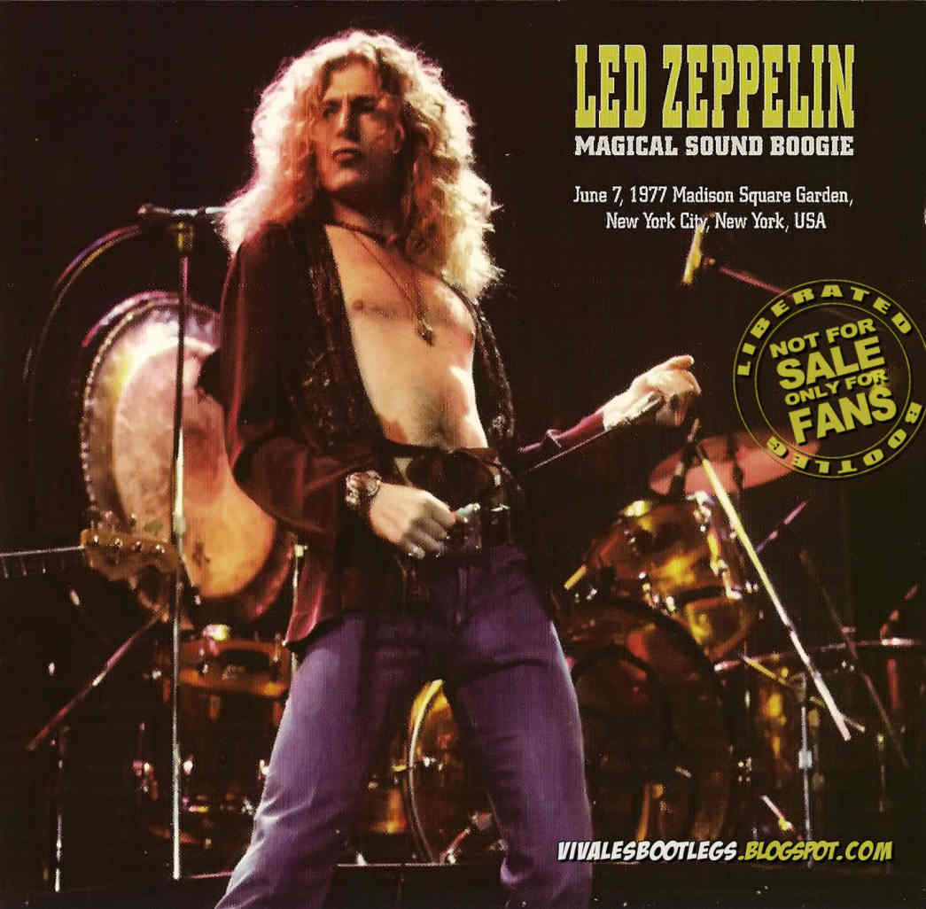 Led Zeppelin Magical Sound Boogie Madison Square Garden Ny City Usa June 07 1977 Triple