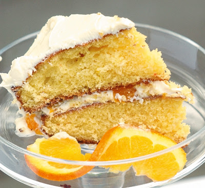 Grandma's Recipes: Mandarin Orange Cake