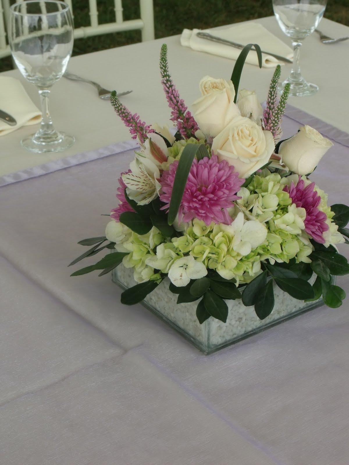 Centros de mesa con flores naturales for Centros de mesa con plantas naturales