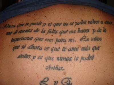 tatuajes de iniciales. Ver tatuajes en los pacientes es cada vez más frecuente, la gente por medio