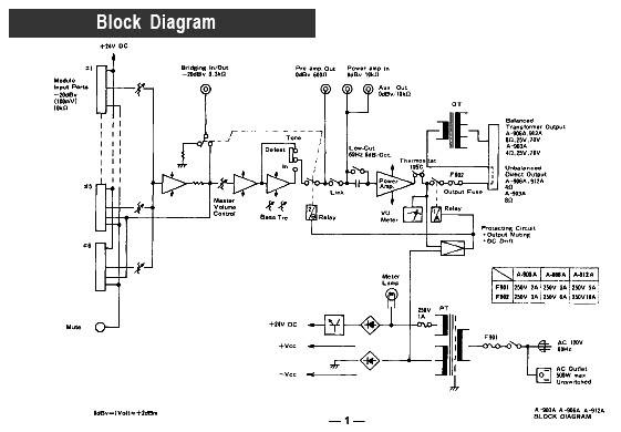 schematic  schema toa new 900 series