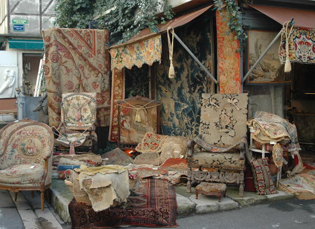 paris and beyond march aux puces st ouen tapestries. Black Bedroom Furniture Sets. Home Design Ideas