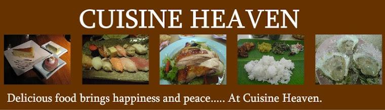 ✶ ✴ ❅❆ Cuisine  Heaven ❆ ❅ ✴ ✶
