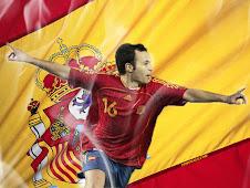 iniesta en la selección española