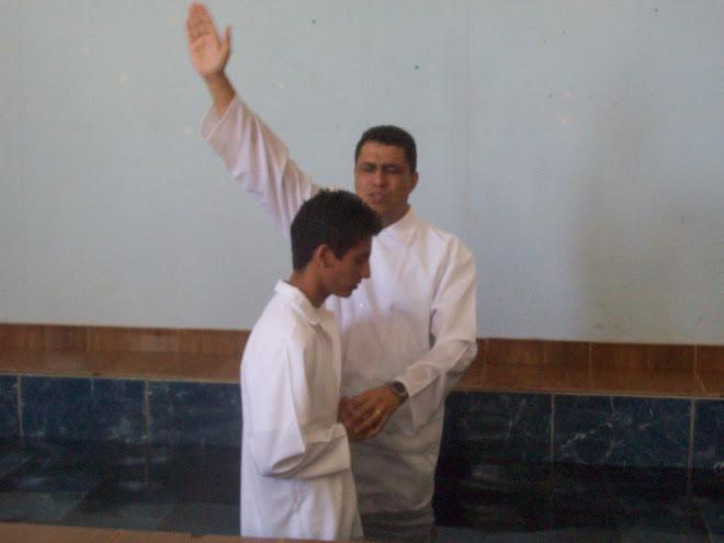 Batismo do Hugo - 17/08
