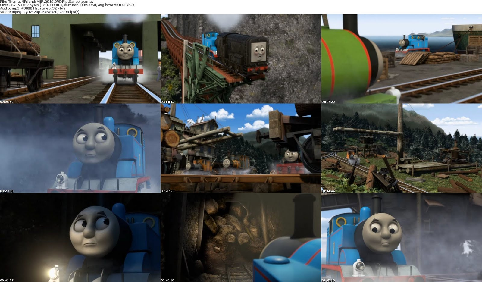 Thomas Friends Misty Island Rescue Dvdrip
