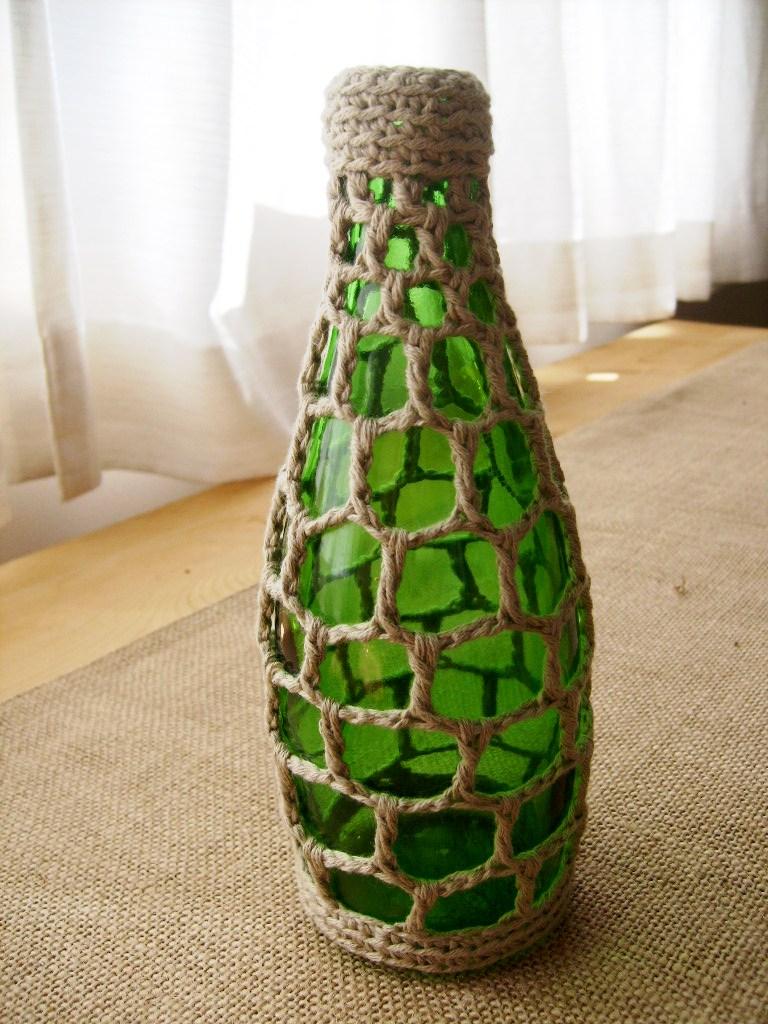 Декор для вазы своими руками фото