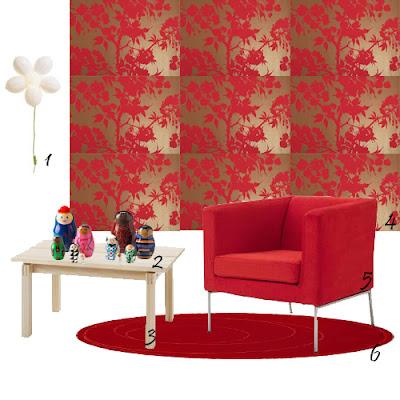 10 dicas de decora o da mini saia como mudar o seu quarto mini saia - Papel paredes ikea ...