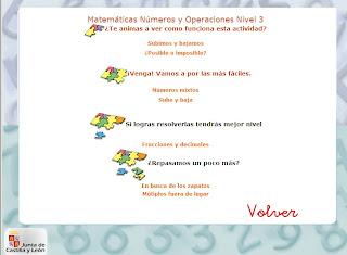 Ir a 10-12 años Matemáticas Números y Operaciones