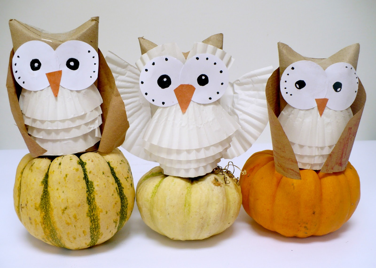 Amelie 39 s house holiday projects 3 hooty owls for Baby owl decoration