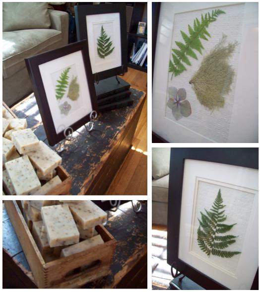 Sweet pea floral design, ann arbor, ypsi, ypsilanti, soap, handmade, pressed fern, botanical, organic, nature, florist, natural, indie, design sponge