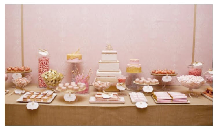 And just like this dessert buffet she created for Martha Stewart Weddings