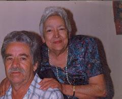 """""""Un matrimonio de mucho amor"""". Felices, Alonso Grisales Alvarez y Ana Gilma Vergara Henao."""