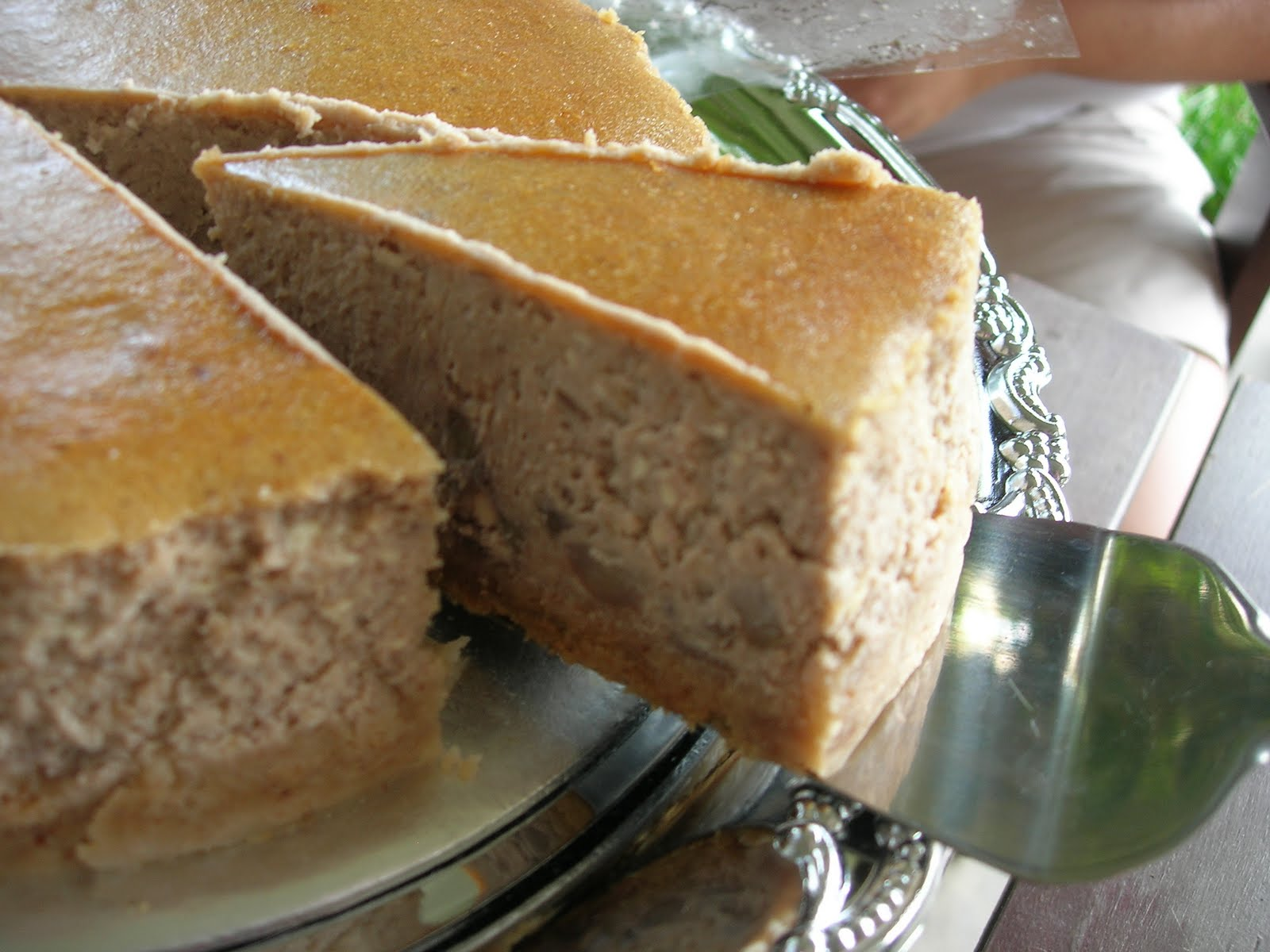 Chestnut Cheesecake - Foodelicious!