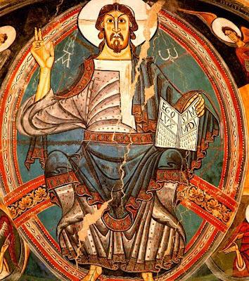El Pantocrátor de San Clemente de Tahull