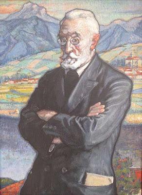 Retrato de Miguel de Unamuno por Ascensio Martiarena