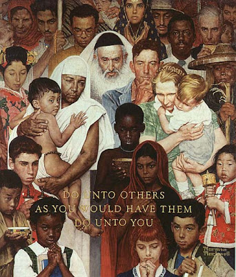 Golden Rule, Norman Rockwell