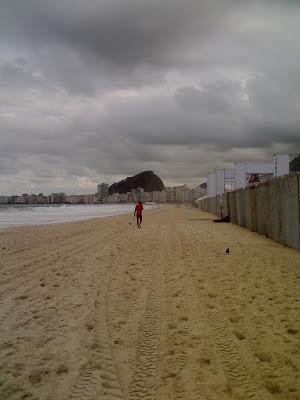 Fifa Fan Fest, cadê a praia que tava aqui?! Foto de Isabella Lychowski