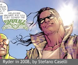 Ryder in 2008, by Stefano Caselli, from Avengers: The Initiative #16