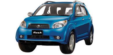 Warna Toyota Rush - Blue Metallic