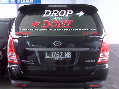 drop and done car