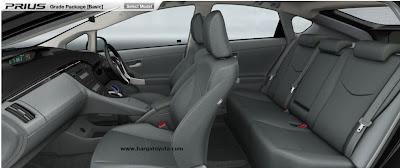 Interior Toyoto Prius