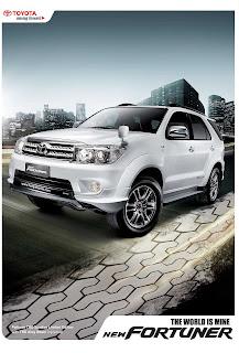 Brosur Toyota Fortuner 2010