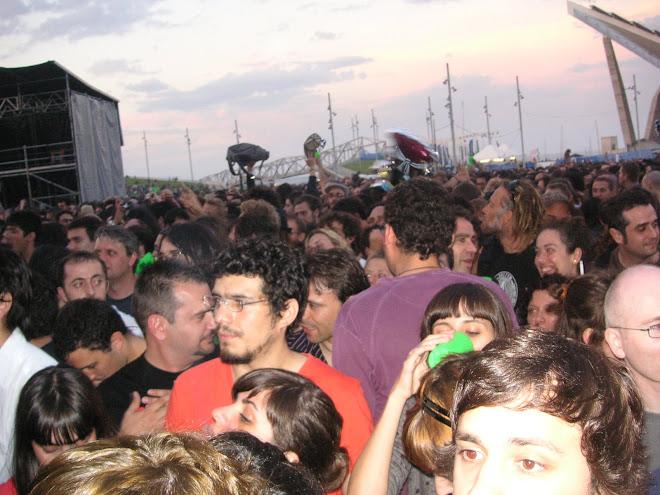 radiohead, daydream festival, barcelona juny 2008