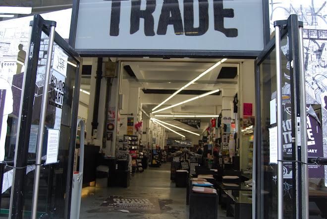 Rough Trade Music Shop, Brick Lane, London Agost 2008