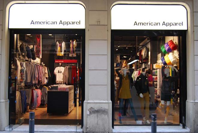 American Apparel, Avinyó, barcelona, octubre 2008
