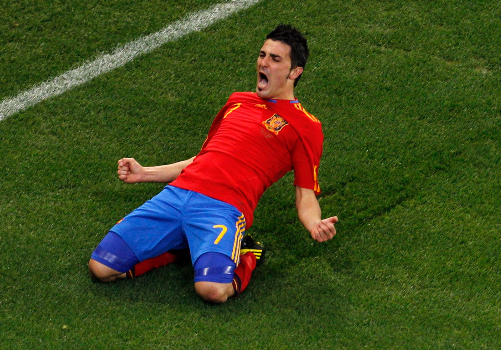 david villa in national team