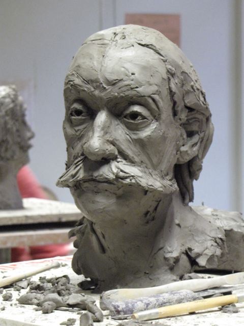 Section 2 Bustes 7 En Cours By Pierre Jean Chabert à 3 01 Pm