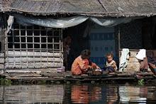 La vita quotidiana dei villaggi galleggianti