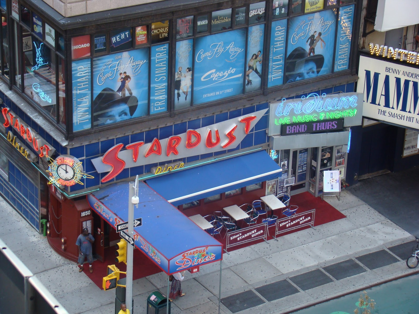 Ellen's Stardust Dinner, NYC