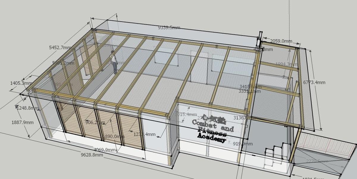 Image Result For Sketchup Shed Plans Designa