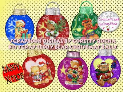 http://scrapbookdigitalbygorettyrocha.blogspot.com/2009/12/teddy-bear-christmas-balls.html