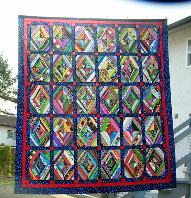 String Of Lights Quilt Pattern : Silver Thimble Quilting: Dryer Sheet String Flimsy