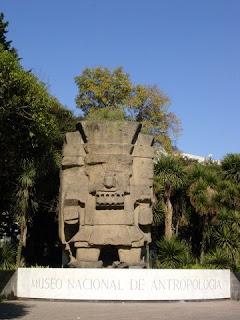 Tláloc, Dios de la Lluvia: Museo Nacional de Antropología, México, DF.