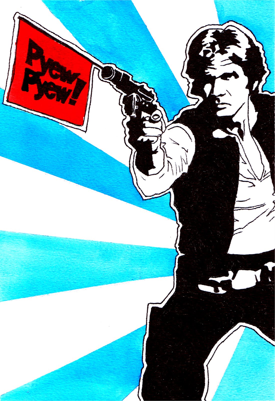 Austin B 39 S Art Star Wars Pop Art