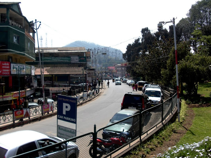 Downtown Ooty